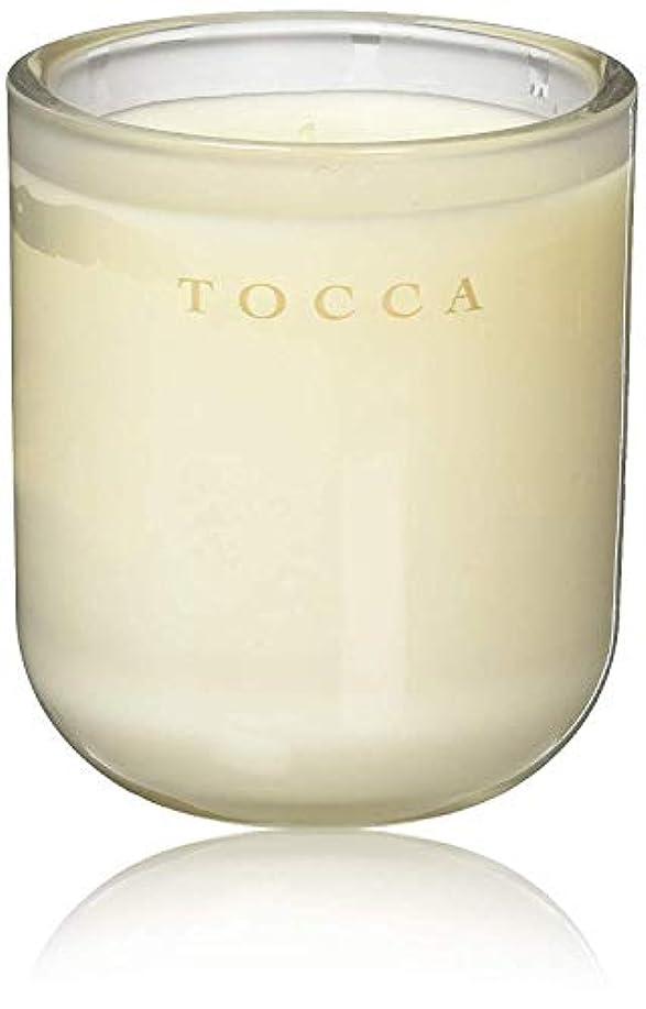 晩餐同種の寄託TOCCA(トッカ) ボヤージュ キャンドル カプリ 287g (ろうそく 芳香 柑橘とメロンの魅惑なシトラスな香り)