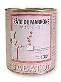 SABATON(サバトン) マロンペースト缶 1kg