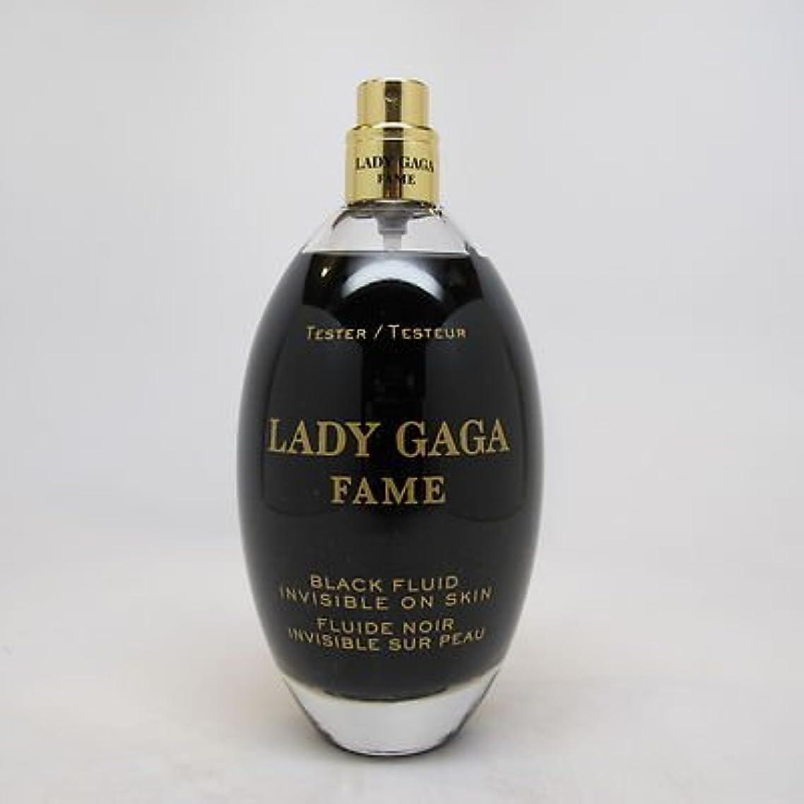 ゴールデン台風無傷Lady Gaga Fame (レディーガガ フェイム)3.4 oz (100ml) EDP Spray (テスター/箱なし?キャップなし)