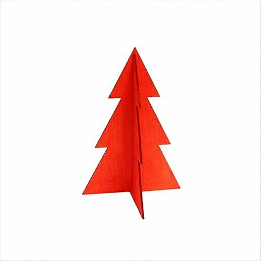 タイムリーな指標不道徳カメヤマキャンドル(kameyama candle) フェスティブツリーS 「 レッド 」