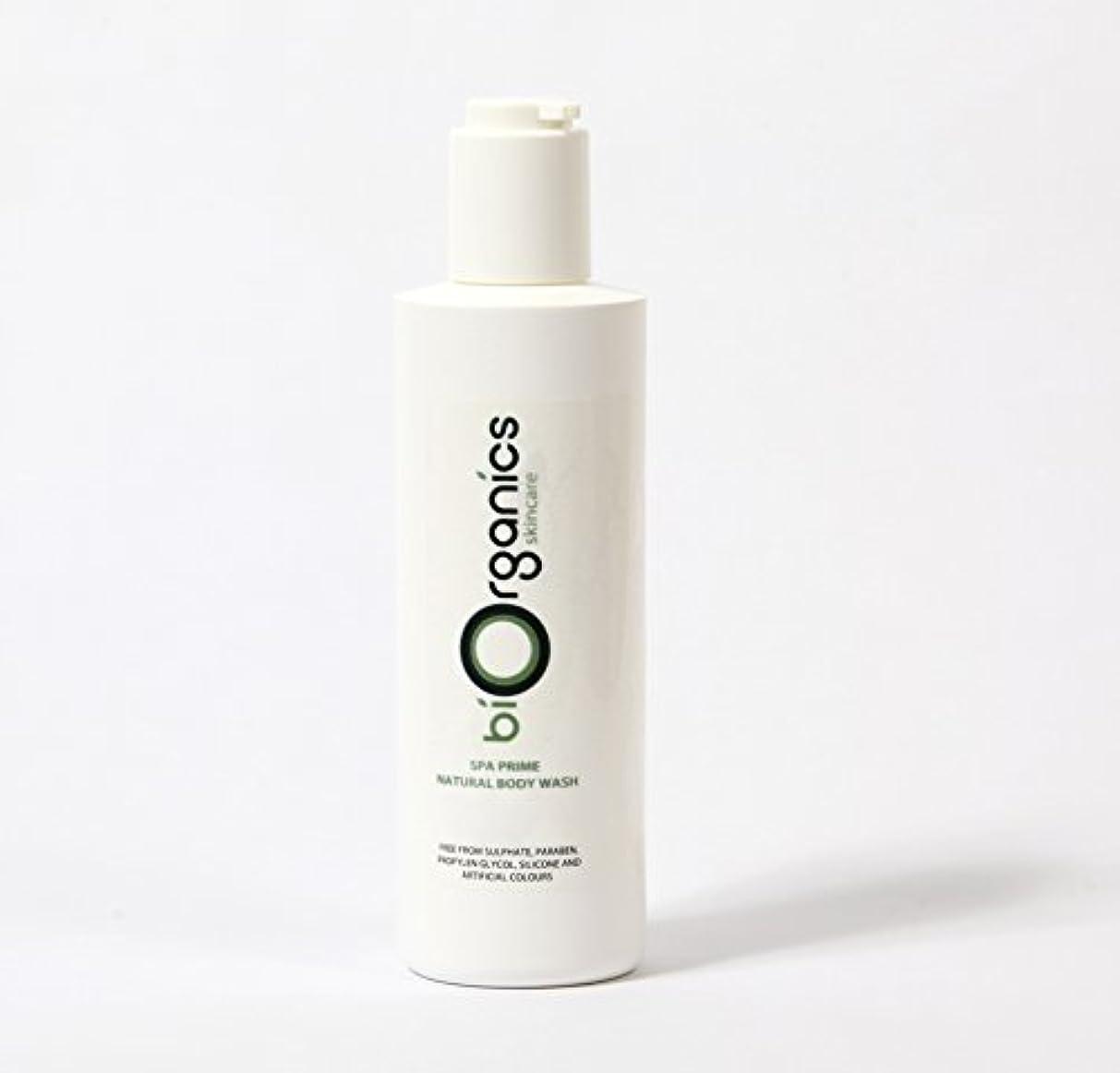 今までと一部Biorganics Natural Body Wash - 250g