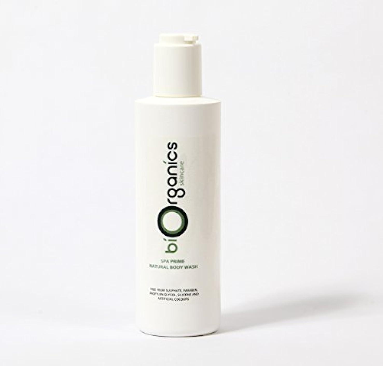 パラメータすり減るインセンティブBiorganics Natural Body Wash - 250g
