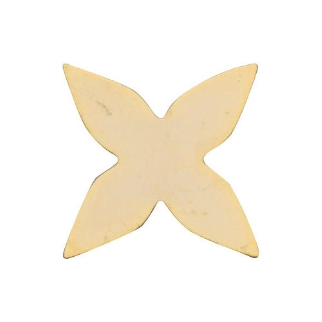 パラシュートサイドボード大破リトルプリティー ネイルアートパーツ 新ガクアジサイプレーン ゴールド 10個