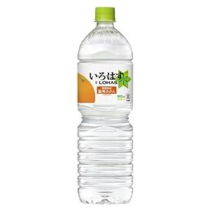 コカ・コーラ い・ろ・は・す 天然水 みかん ペットボトル 1555ml×8本