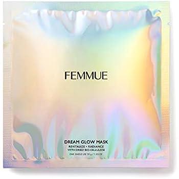 FEMMUE(ファミュ) ドリームグロウマスクRR[透明感*・キメ]30mL×6枚入