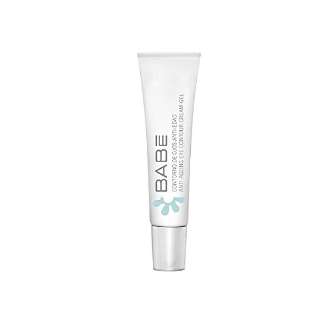 垂直離れて壮大なBabe Anti-ageing Eye Contour Cream Gel 15ml [並行輸入品]