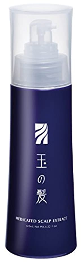 リゾート容器延期する玉の髪 薬用養毛エキス 120mL