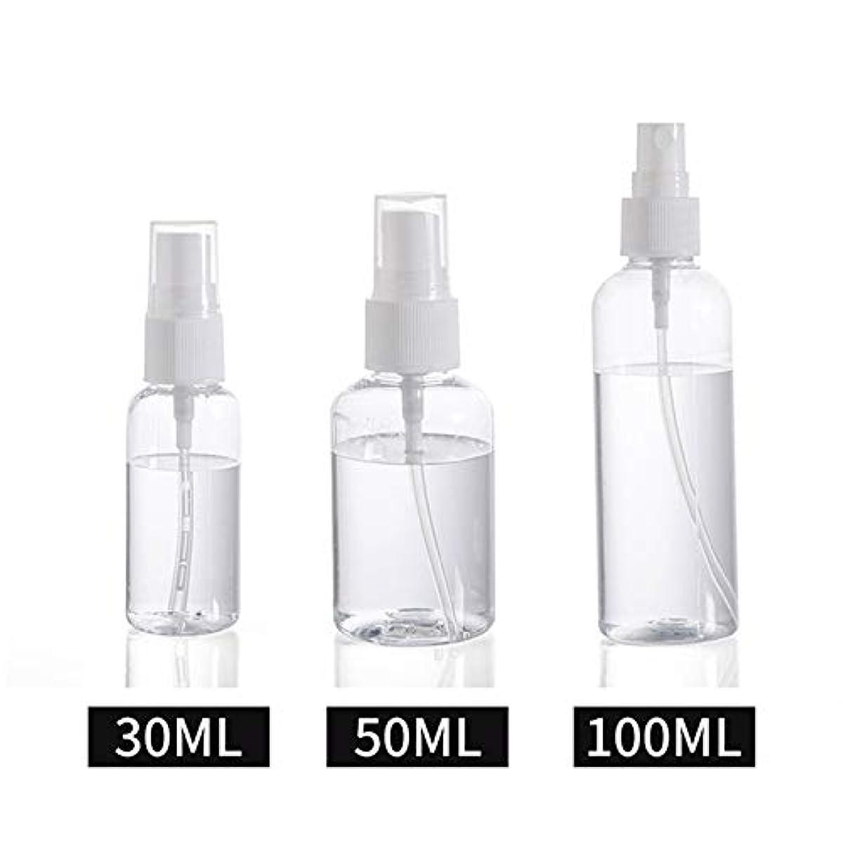 トランクライブラリ出席パッド30ml / 50ml / 100ml スプレーボトル 小分けボトル 詰め替え シャンプー クリーム 化粧品