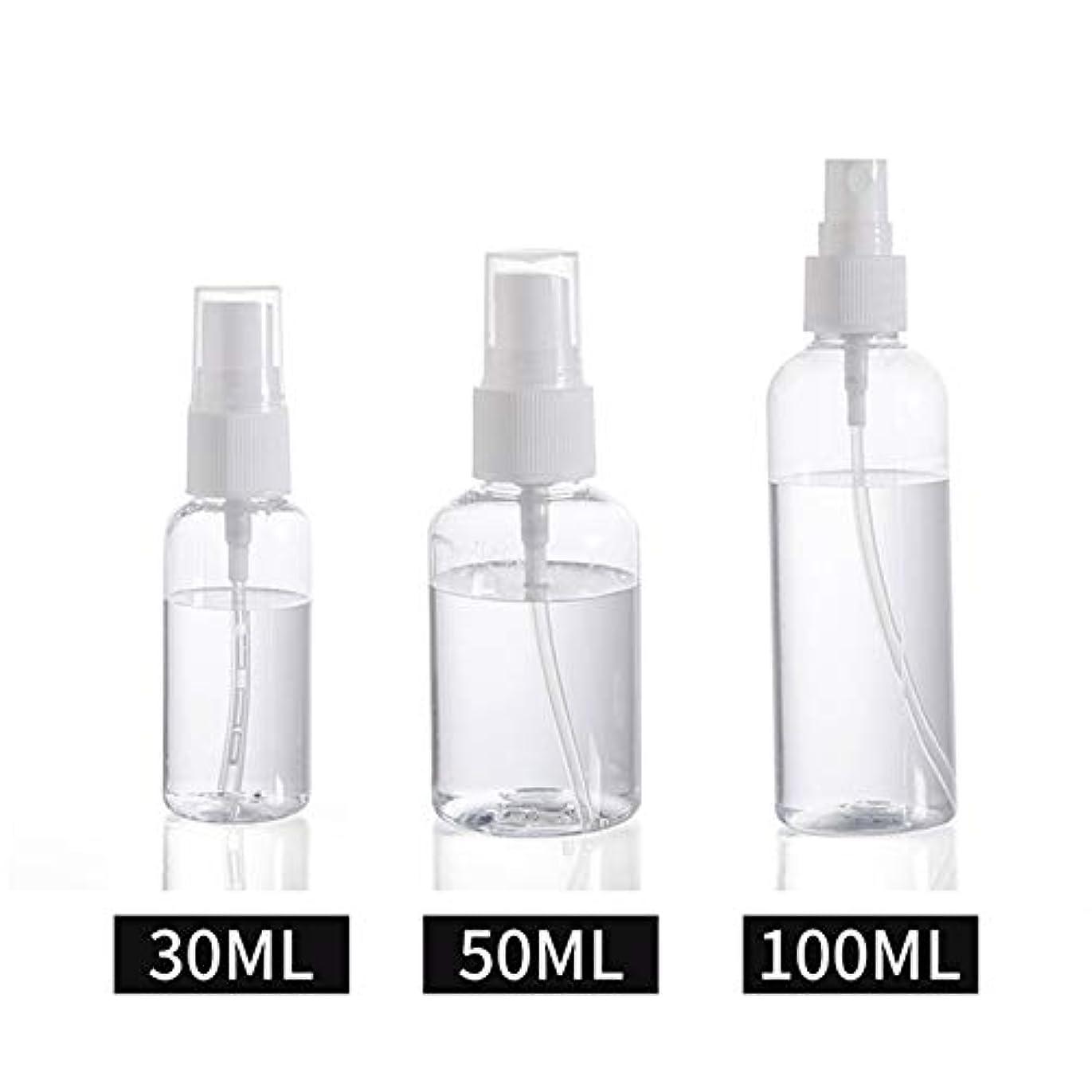 一貫性のないところで拮抗30ml / 50ml / 100ml スプレーボトル 小分けボトル 詰め替え シャンプー クリーム 化粧品