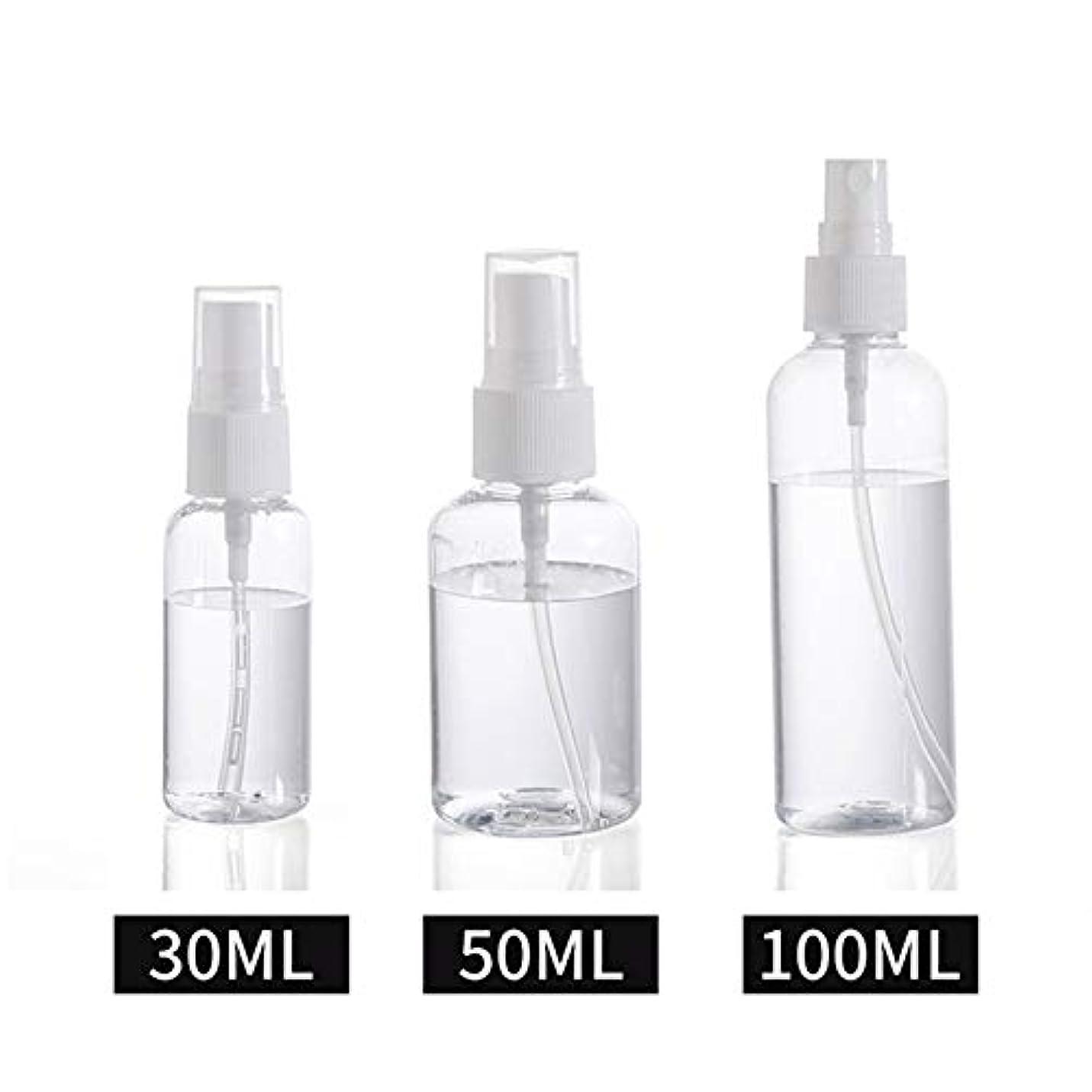 研磨泥沼倒錯30ml / 50ml / 100ml スプレーボトル 小分けボトル 詰め替え シャンプー クリーム 化粧品