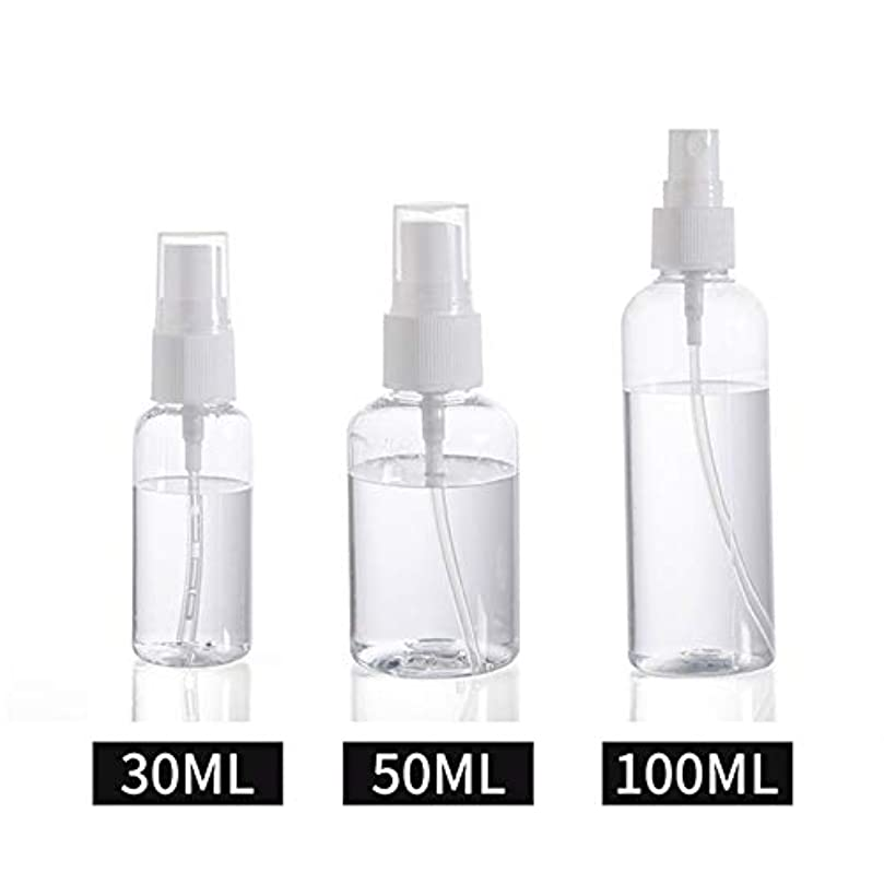 縞模様の運賃サーキットに行く30ml / 50ml / 100ml スプレーボトル 小分けボトル 詰め替え シャンプー クリーム 化粧品