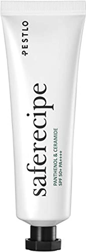 認める先入観動機Pestlo Safe Recipe 【ペスロ セーフ レシピ】サンエッセンス UVカット 日焼け止め - ナチュラルフェイシャルサンスクリーンモイスチャライザー SPF50+ PA++++ 低刺激 韓国コスメ 化粧品 50ml