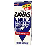 明治 (ザバス) ミルクプロテイン 脂肪ゼロ ミルク風味 200ml紙パック×24本入