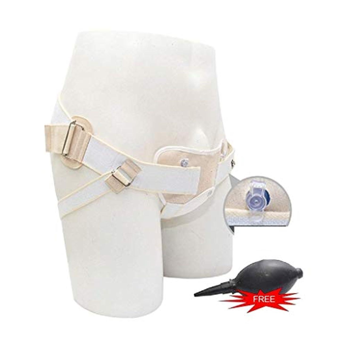 冷蔵庫仮装うそつきGu径ヘルニアベルト空気圧、成人型臍U径ヘルニアベルト、ポンプ付きインフレータブルトラスサポートストラップ