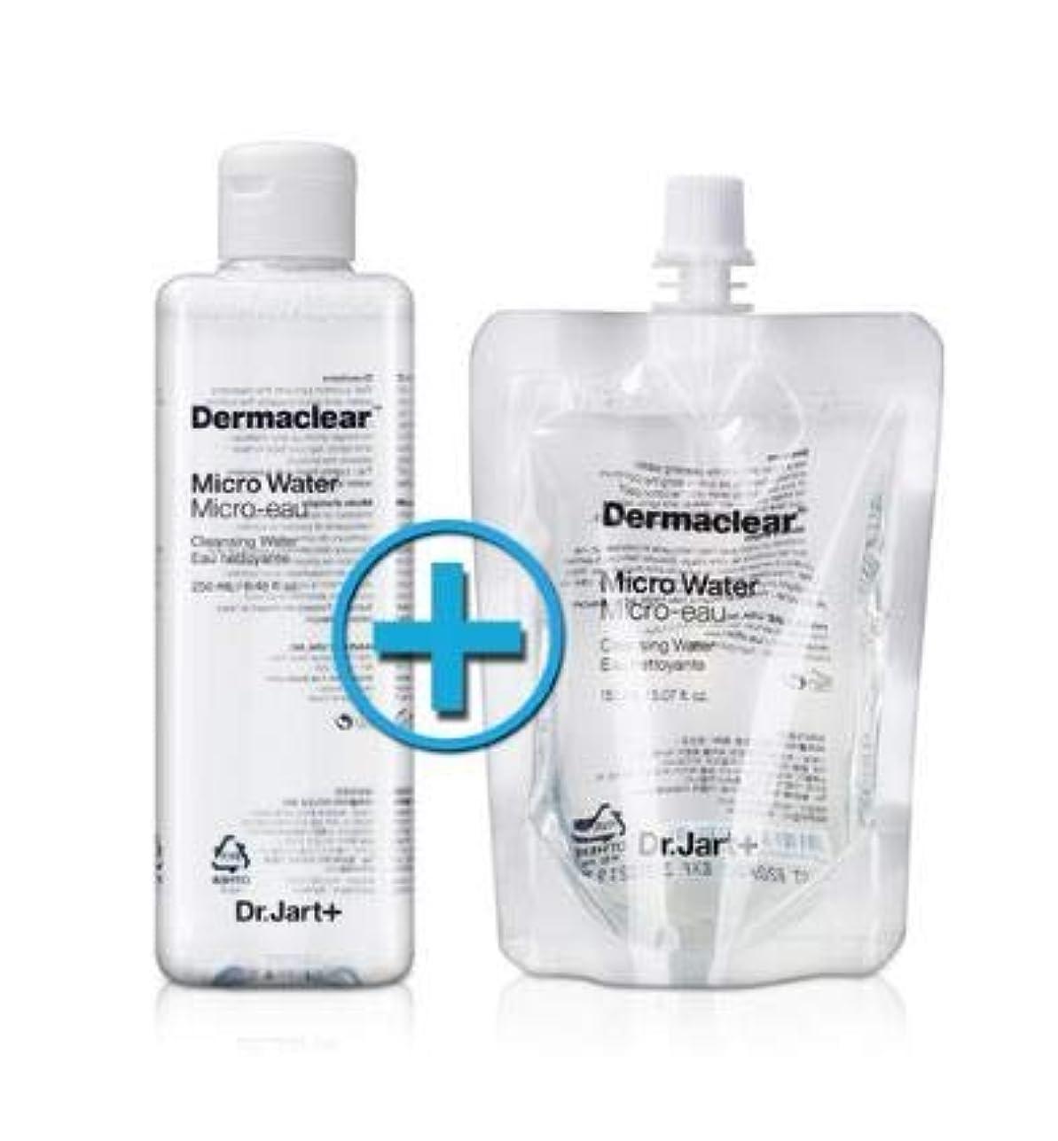 白鳥ドアミラー海外ドクタージャルト ダーマクリア マイクロ ウォーター 250ml+150ml Dr.Jart+ Dermaclear Micro Water 250ml+150ml [並行輸入品]