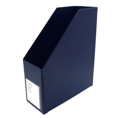 ビュロー ファイルボックス 縦型【ダークブルー】 FX11 DB