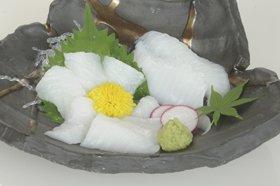 藤静水産)カラスカレイ縁側スライス生食用 200g(20枚)