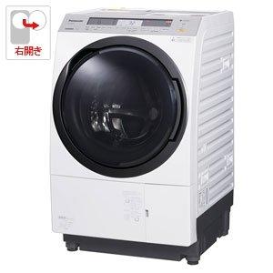 パナソニック 11.0kg ドラム式洗濯乾燥機【右開き】クリスタルホワイトPanasonic エコナビ 温水泡洗浄 NA-VX8800R-W