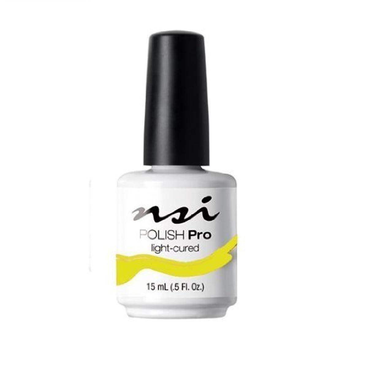 愚かな軍財団NSI Polish Pro Gel Polish - Lemon Twist - 0.5oz / 15ml