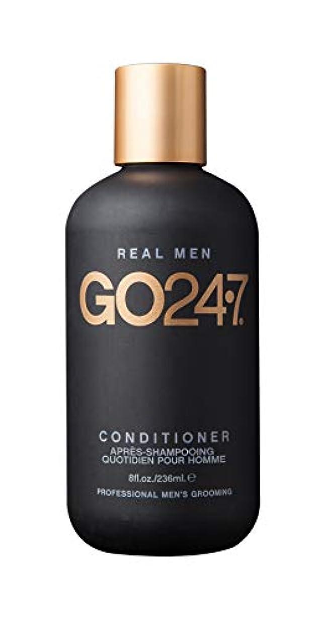 インテリア入射インフルエンザGO247 Real Men Conditioner, 8 Fluid Ounce by On The Go