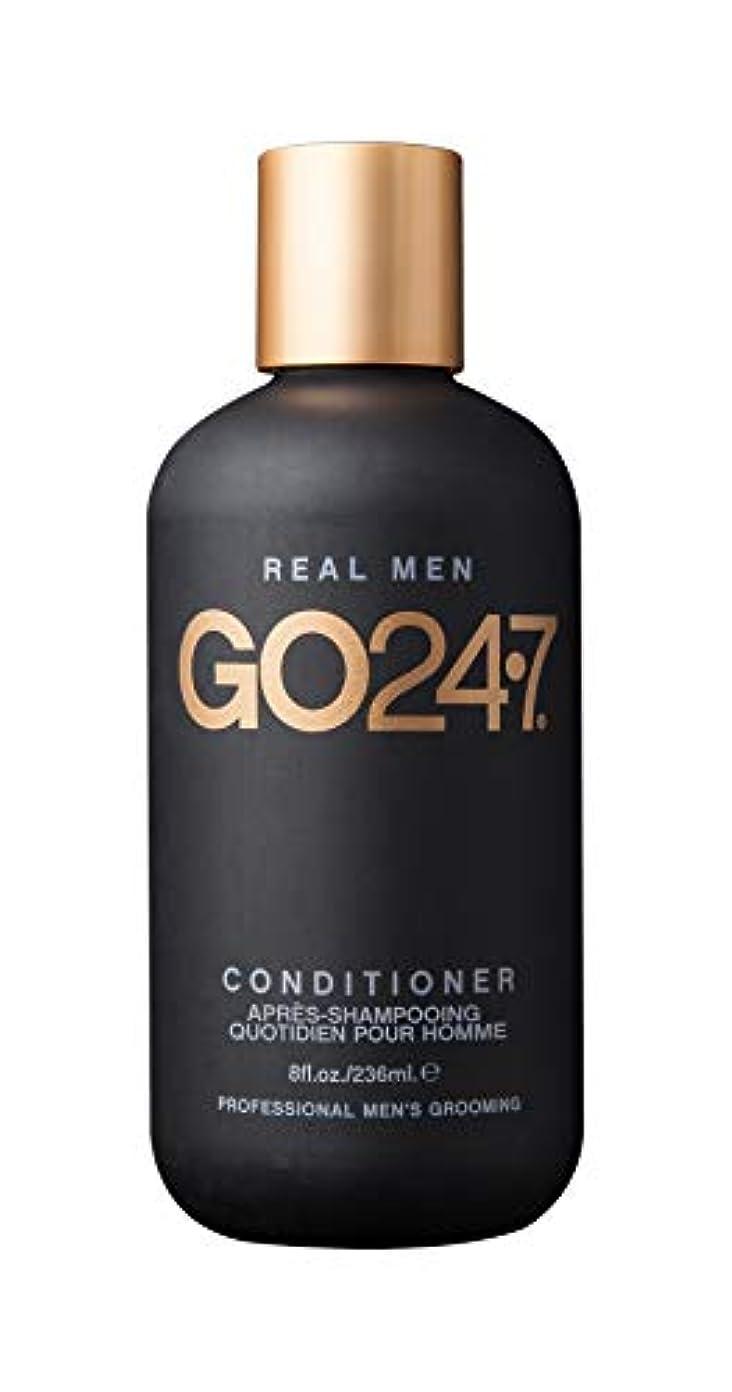 コイルくぼみ暗くするGO247 Real Men Conditioner, 8 Fluid Ounce by On The Go