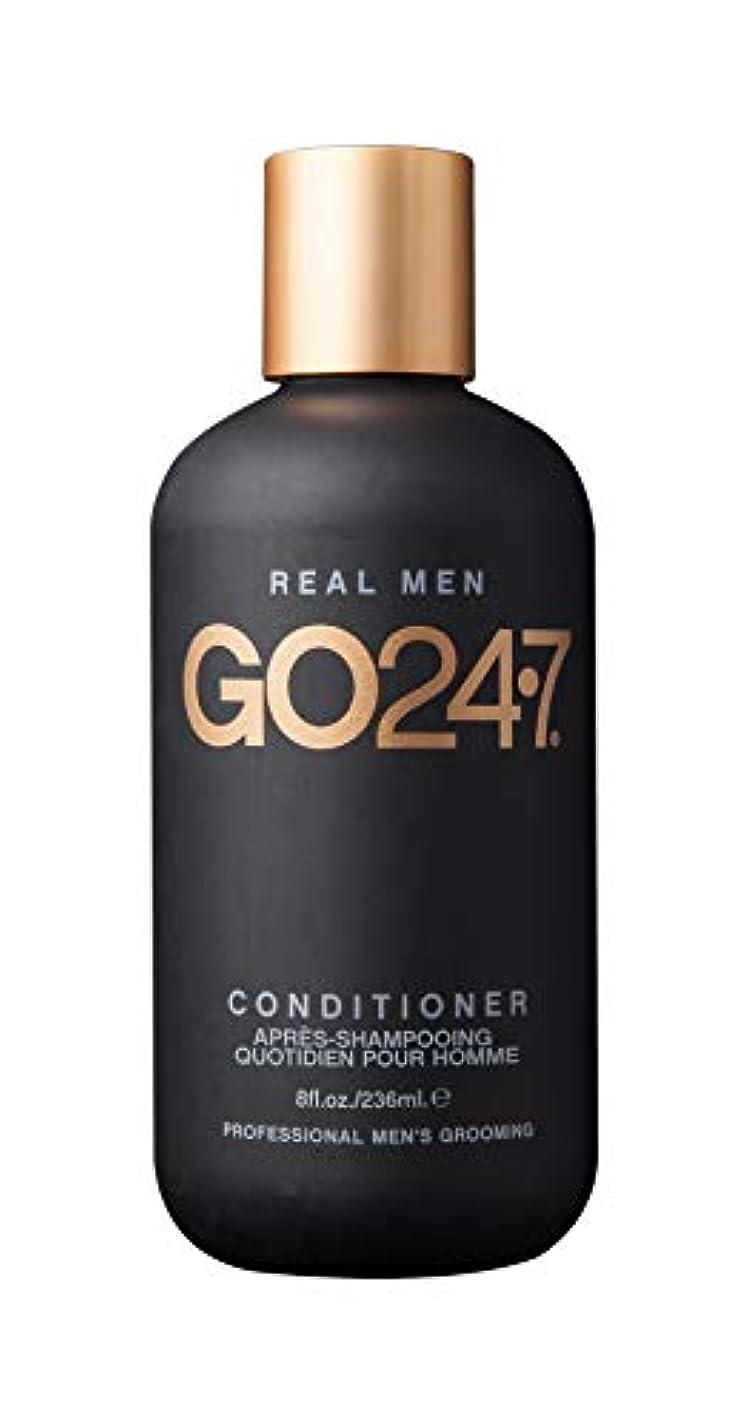 歪める解決実用的GO247 Real Men Conditioner, 8 Fluid Ounce by On The Go