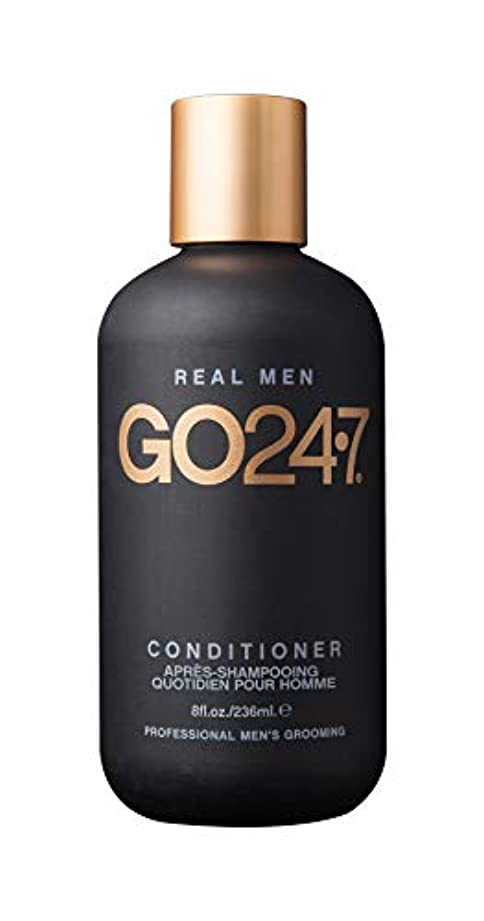 恐ろしいです驚泣くGO247 Real Men Conditioner, 8 Fluid Ounce by On The Go