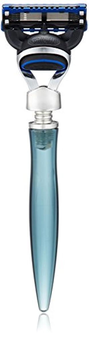 ペフ肥沃なペリスコープイーシェーブ レーザー ニッケル 5枚刃 ブルー