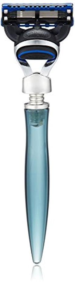 不平を言うジョセフバンクス塩辛いイーシェーブ レーザー ニッケル 5枚刃 ブルー