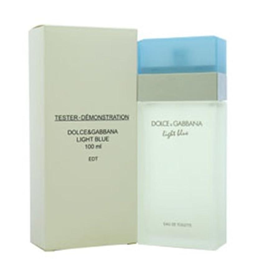 綺麗なコーラス湿度ドルチェ&ガッバーナ(DOLCE&GABBANA) ライトブルー (テスター) EDT SP 100ml[並行輸入品]