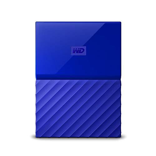 WD HDD ポータブル ハードディスク 4TB USB3.0 ブルー 暗号化 パスワード保護 3年保証 My Passport WDBYFT0...