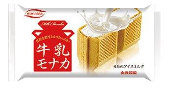 丸永製菓 牛乳モナカ 24入