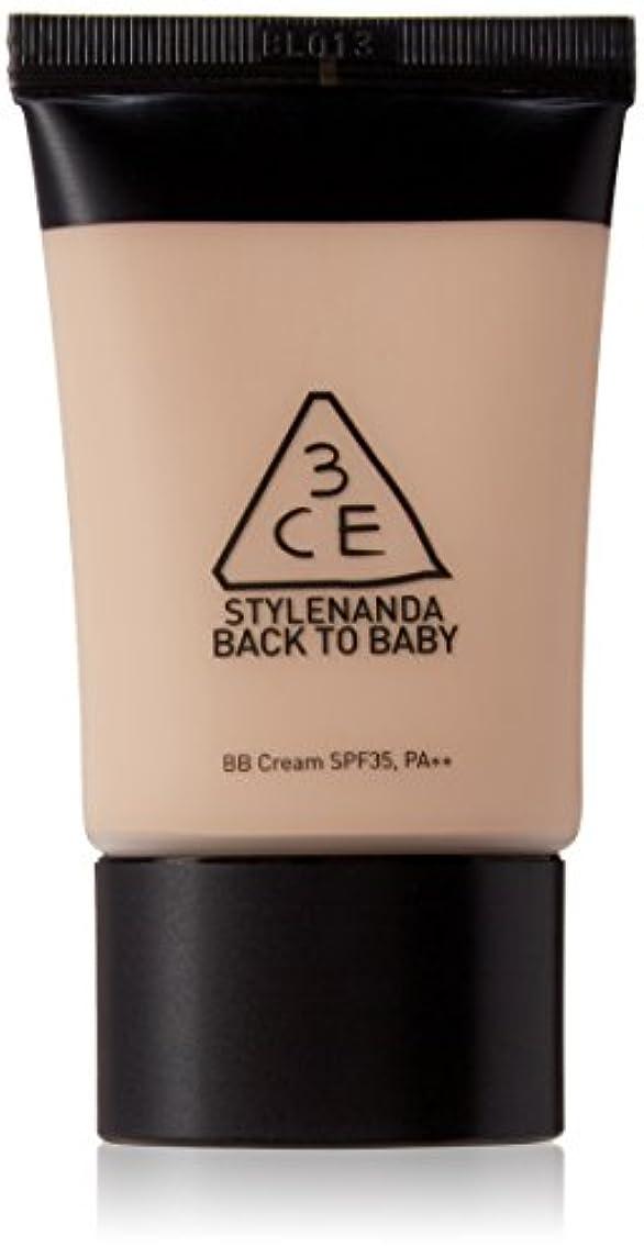 餌会員逃れる『3CE?STYLENANDA』バックトゥベビー BBクリーム(SPF35,PA++)