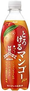 アサヒ飲料 「三ツ矢」とろけるマンゴーミックス 500ml ×24本
