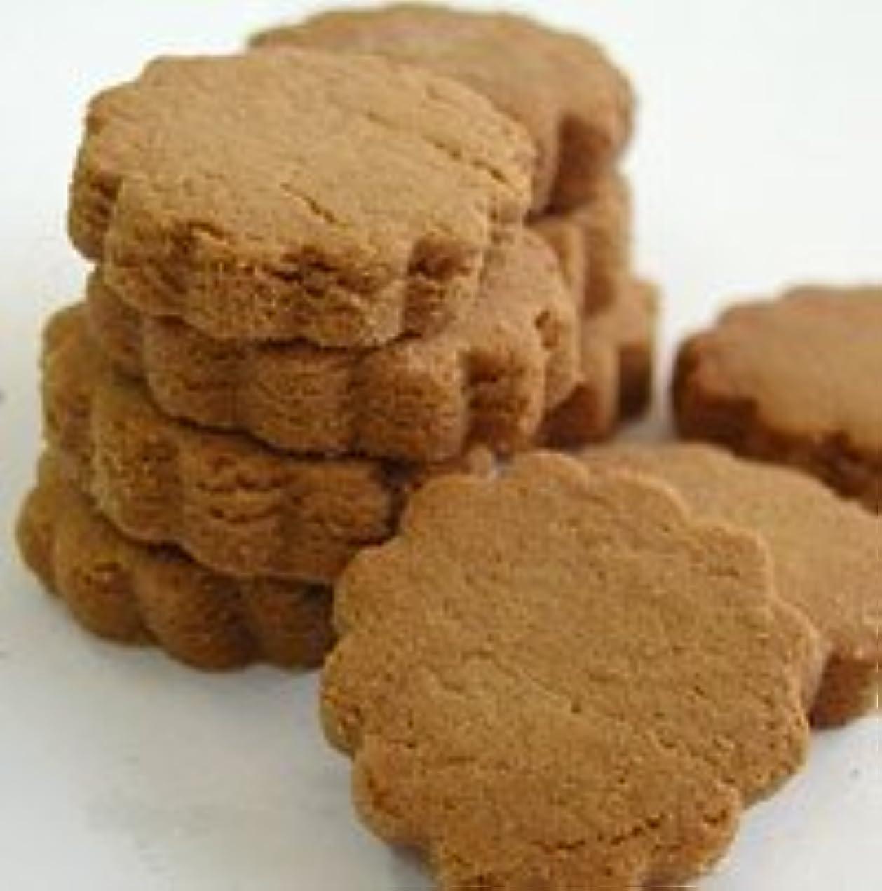 平らな個人的なフォーク無添加ナチュラルクッキー きなこ