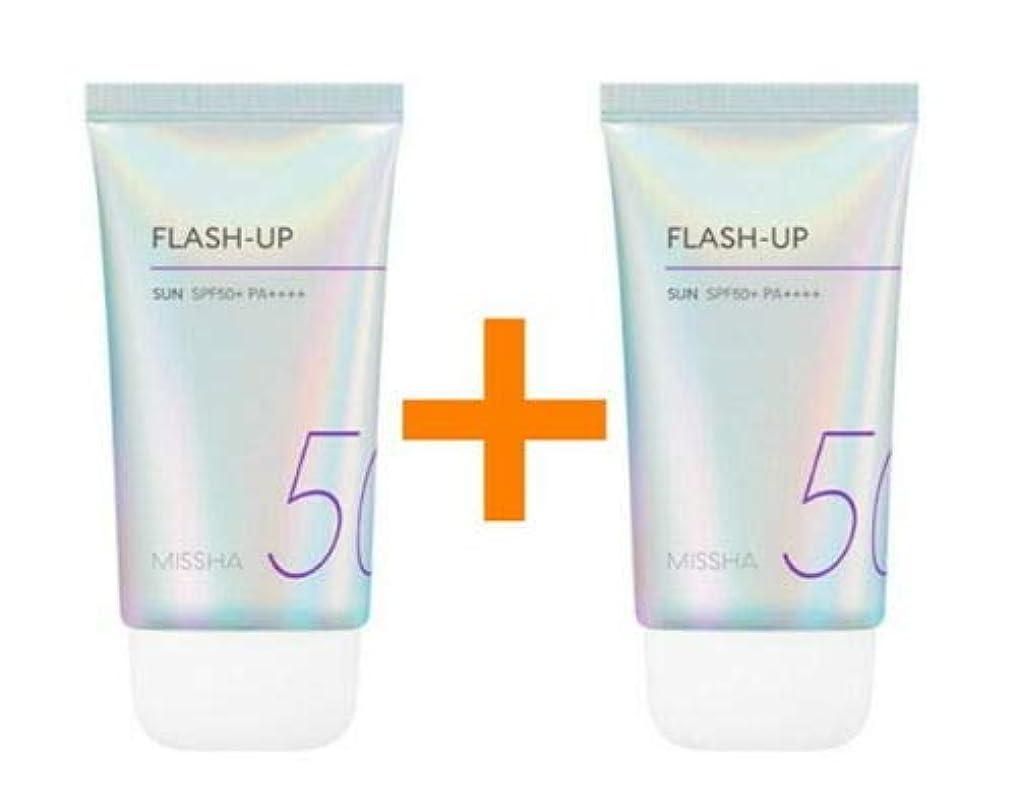 料理スリット寛大さ[1+1] MISSHA ミシャ Flash-Up Sun 50ml SPF50+/PA++++ 韓国日焼け止め