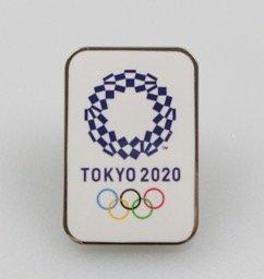 東京 2020 公式 オリンピック エンブレム ピンバッジ オフィシャルライセンス グッズ