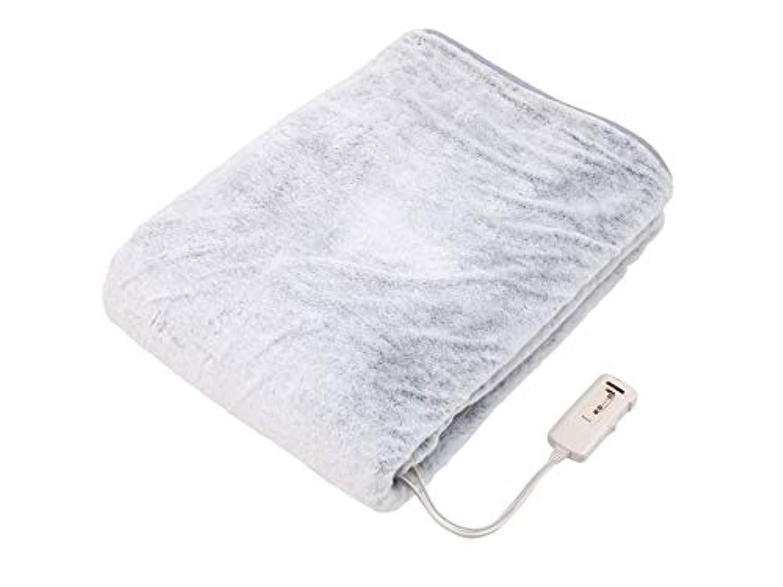 コイズミ 電気掛敷毛布 ラビットファー調 188×130cm KDK-7581R