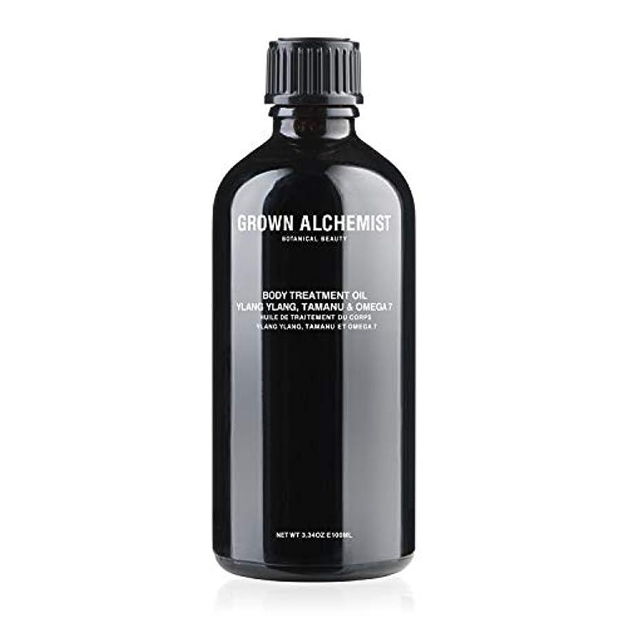 条約本当に世辞Grown Alchemist Body Treatment Oil - Ylang Ylang, Tamanu & Omega 7 100ml/3.34oz並行輸入品
