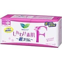 【花王】ロリエFしあわせ超スリムふつうの日用羽つき 24コ入 ×10個セット