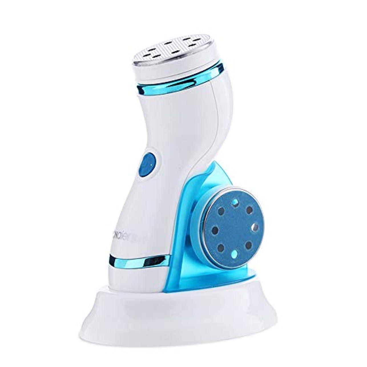 鳴らすはちみつ悲鳴電気ハードスキンリムーバー、プロの充電式フットファイルラスプ用デッドスキンを取り除き、角質を減らすペディキュアツール、カルスリムーバー、乾いたデッド、ひびの入った足
