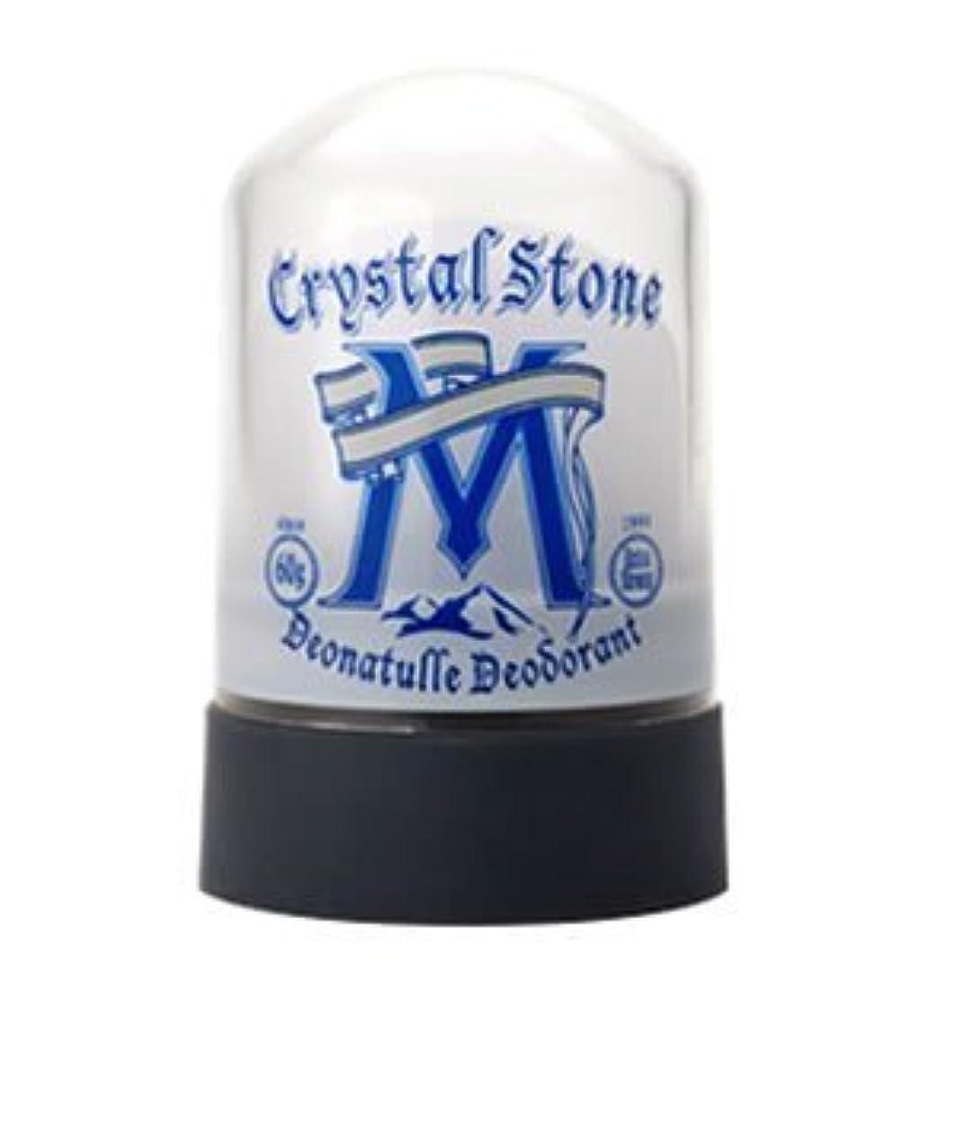 いつか領域分析的なデオナチュレ 男クリスタルストーン 60g無香料(医薬部外品)(お買い得3個セット)