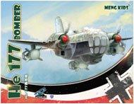 モンキッズ He 177爆撃機 (スペシャルー成型色ホワイト)