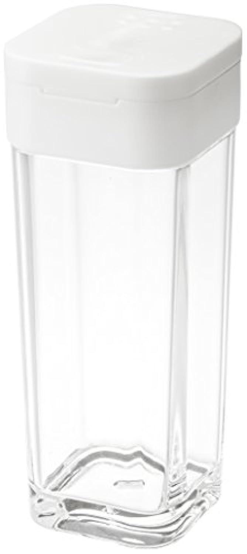 山崎実業 塩 コショウ 入れ  スパイスボトル タワー ホワイト 2863