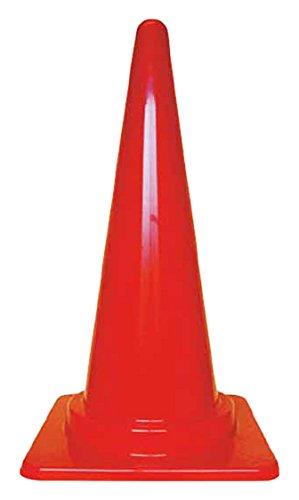 TRUSCO カラーコーン 700X380赤