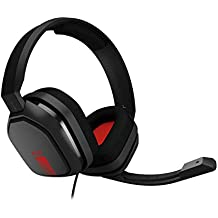 ASTRO Gaming A10 Gaming Headset Black, Red (Renewed)