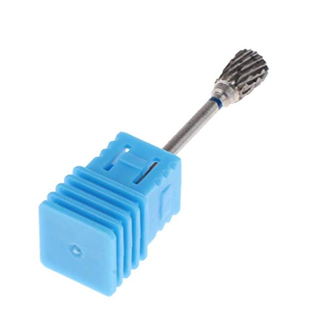 フェリー赤字メタルラインToygogo 電気釘ファイル機械のための釘の穴あけ工具のタングステンの鋼鉄炭化物の穴あけ工具のキューティクルの除去剤3/32 - #9