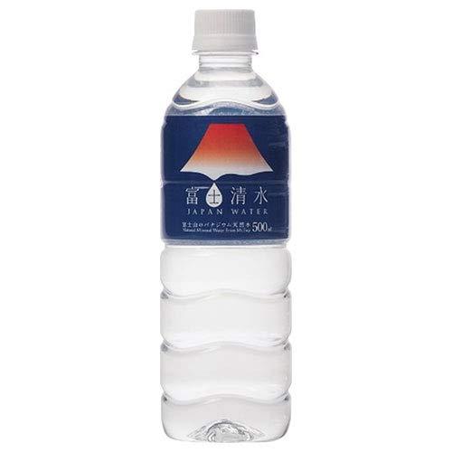 富士清水 JAPAN WATER 500ml ×24本
