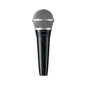 SHURE ダイナミックマイク ボーカル用 XLR・フォーンケーブル付属 PGA48-XLR 【国内正規品】