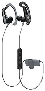 パイオニア Pioneer SE-E7BT Bluetoothスポーツイヤホン 防滴仕様 グレー SE-E7BT(H) 【国内正規品】